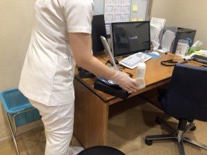 オペラシティクリニック、診察室の感染症対策
